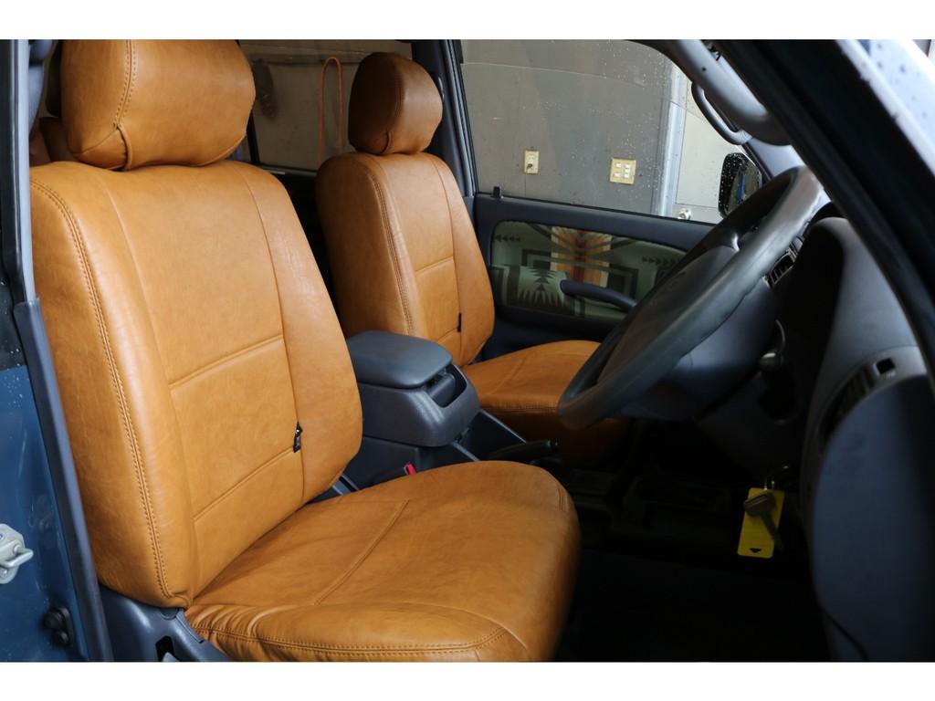 運転席はお車の中でも、滞在時間が長くなる場所です。皆様、自分が運転席に座っているところを想像してください。ニヤニヤしませんか?(笑)
