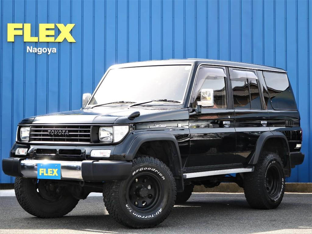 買取直販 1KZ3000cc 大人気78プラド! 202ブラック塗装済み 各部マットブラック塗装 2インチリフトアップのご案内です。