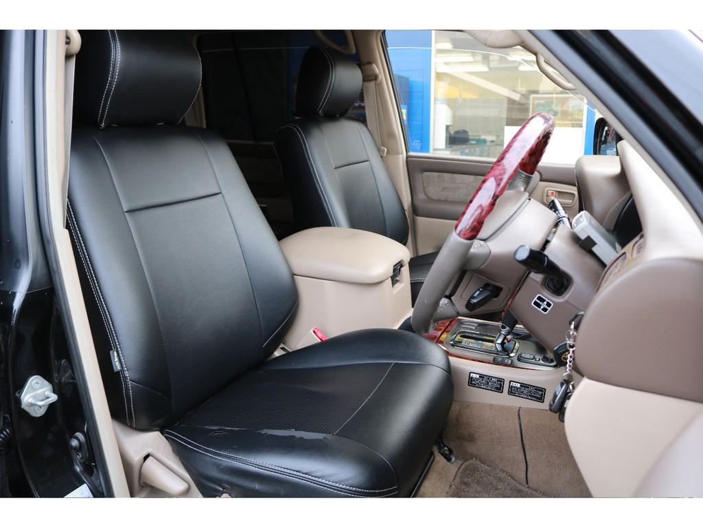 フロントシートは、車の中でも一番滞在時間が長くなるいわば、特別な場所。自分専用のカスタムをするのも良いですよね。RECAROのシートを入れたり・・・etc。考えるだけでテンションが上がります!