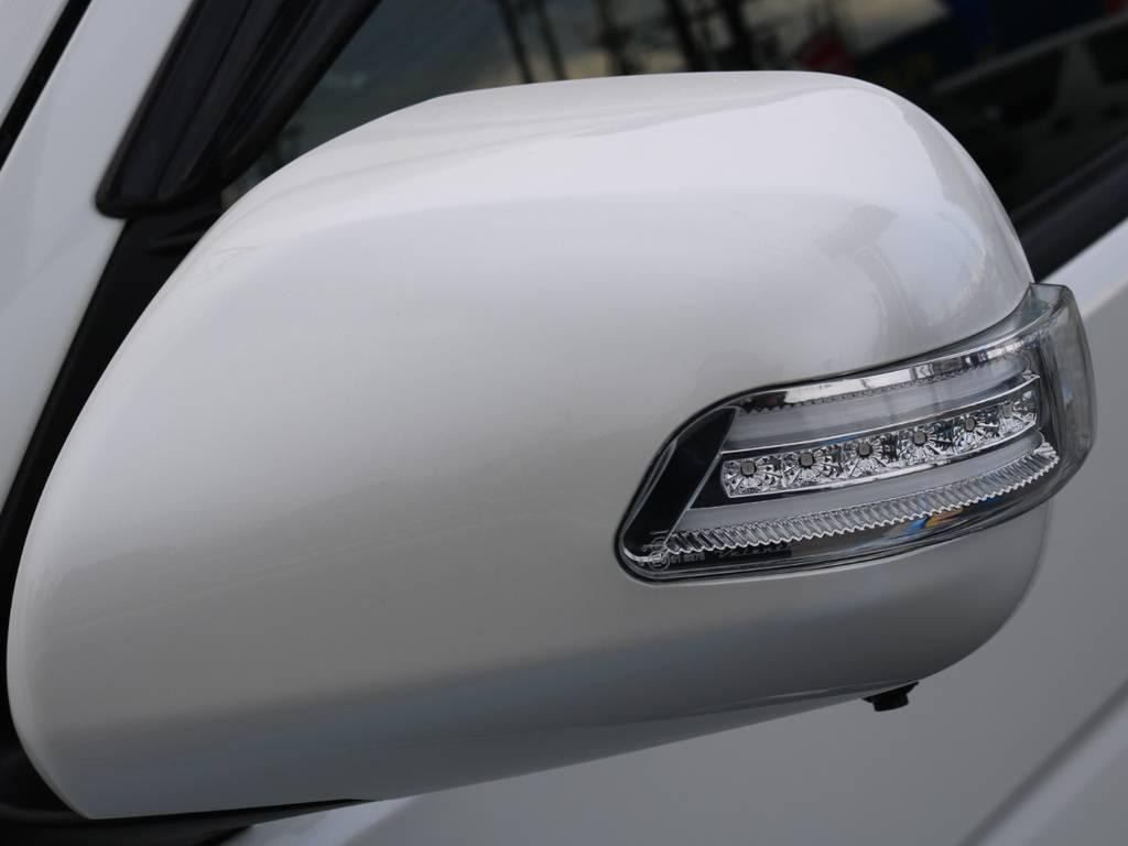 バレンティ LEDドアミラーウインカー! | トヨタ ハイエースバン 2.0 スーパーGL ダークプライム ロングボディ