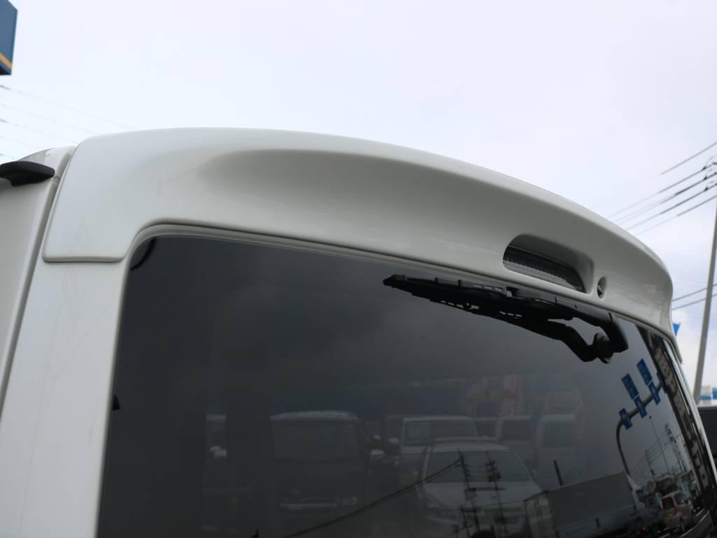 コプラスLEDハイマウントストップランプ! | トヨタ ハイエースバン 2.0 スーパーGL ダークプライム ロングボディ