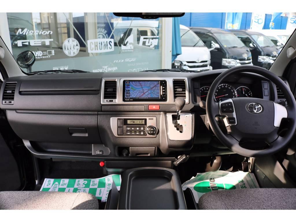 インテリアパーツの追加カスタムも承ります! | トヨタ ハイエースバン 2.0 スーパーGL ロング ROOM CAR 03