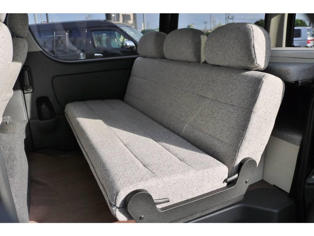 ROOM-CAR専用セカンドシート! | トヨタ ハイエースバン 2.0 スーパーGL ロング ROOM CAR 03
