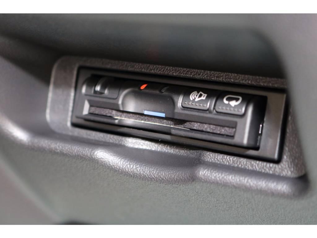 ETCは埋め込みにて装着! | トヨタ ハイエースバン 2.0 スーパーGL ロング ROOM CAR 03