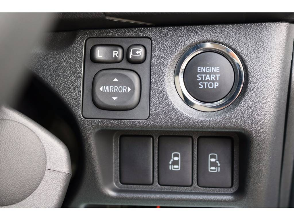 プッシュスタート&スマートエントリーシステム!両側パワースライドドアともにオプションで完備! | トヨタ ハイエースバン 2.0 スーパーGL ロング ROOM CAR 03