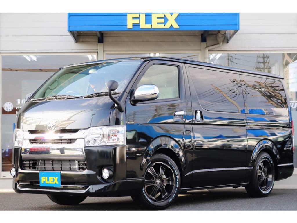 FLEXオリジナルシートアレンジ車両「ROOM-CAR 03」入庫! | トヨタ ハイエースバン 2.0 スーパーGL ロング ROOM CAR 03