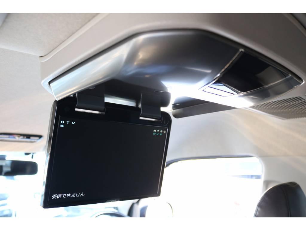 アルパイン製フリップダウンモニターはスマートインストールキット付き! | トヨタ ハイエース 2.7 GL ロング ミドルルーフ