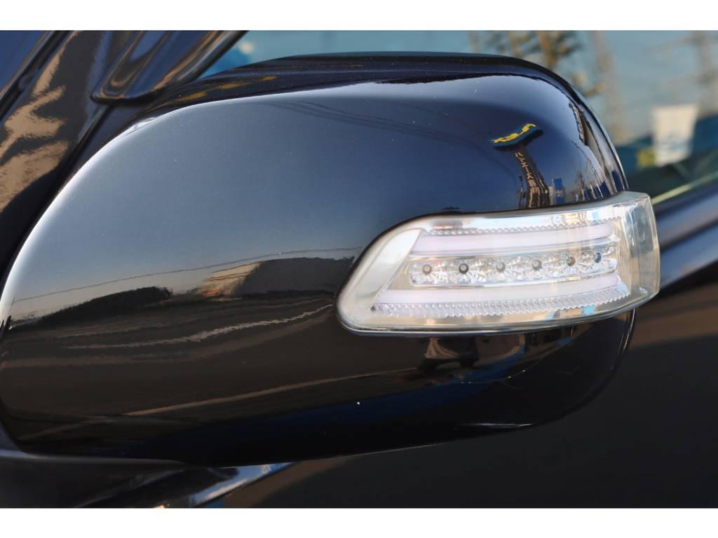 LEDドアミラーウインカー! | トヨタ ハイエース 2.7 GL ロング ミドルルーフ