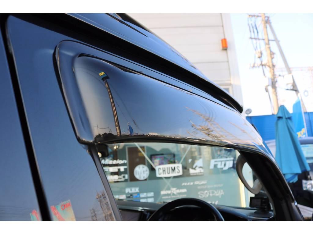 ドアバイザー完備! | トヨタ ハイエース 2.7 GL ロング ミドルルーフ