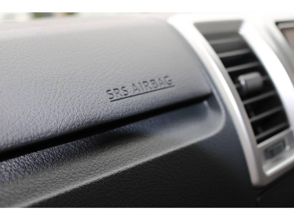 助手席SRSエアバッグもオプションで装着済! | トヨタ ハイエースバン 2.0 スーパーGL ロング RELAXBASE TYPE1
