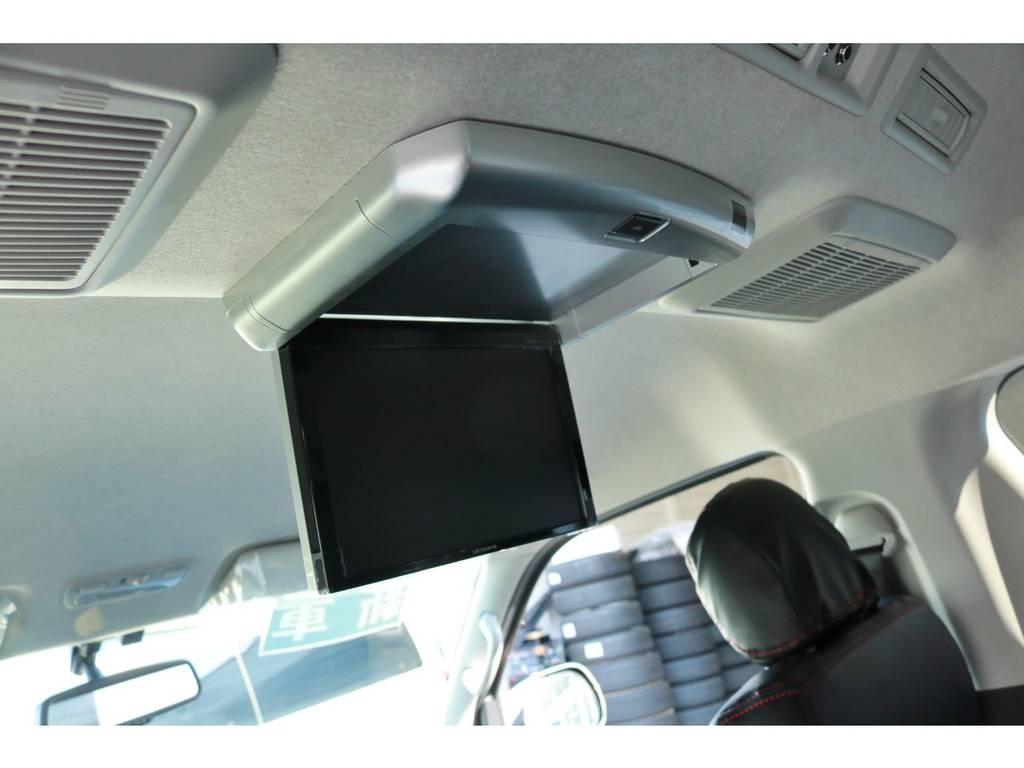 フリップダウンモニター! | トヨタ ハイエース 2.7 GL ロング ミドルルーフ ラウンジ5α
