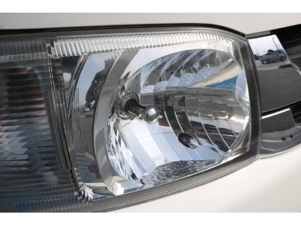HIDヘッドライト!   トヨタ レジアスエース 3.0 スーパーGL ロングボディ ディーゼルターボ