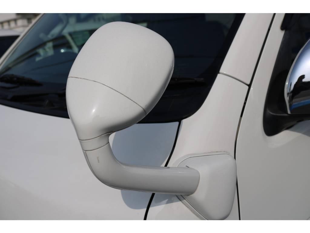 純正補助ミラー同色ペイント済!   トヨタ レジアスエース 3.0 スーパーGL ロングボディ ディーゼルターボ