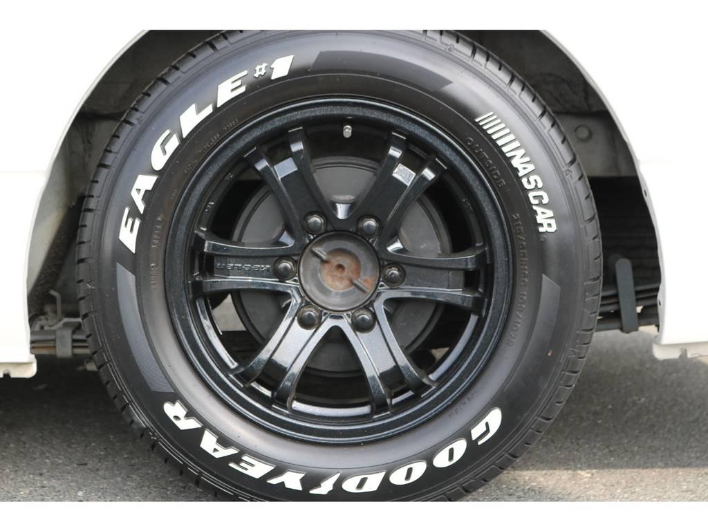 キーラーフォース16AW&ナスカー!   トヨタ レジアスエース 3.0 スーパーGL ロングボディ ディーゼルターボ