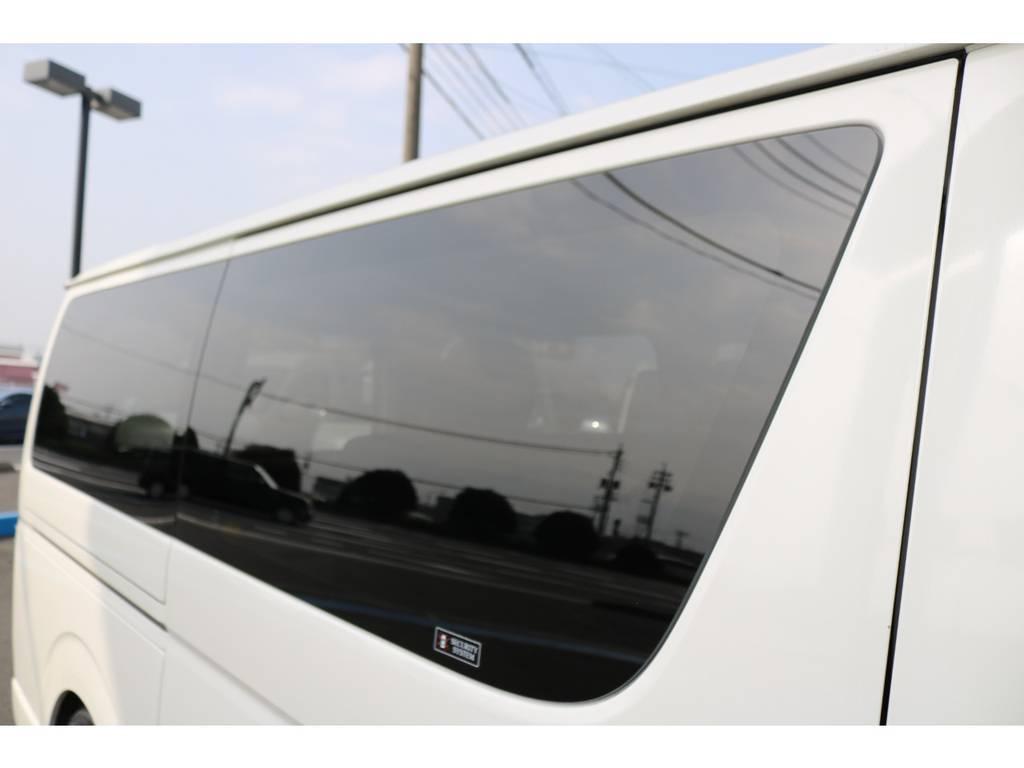 見た目スッキリ!スライドドアガラス固定式!   トヨタ レジアスエース 3.0 スーパーGL ロングボディ ディーゼルターボ