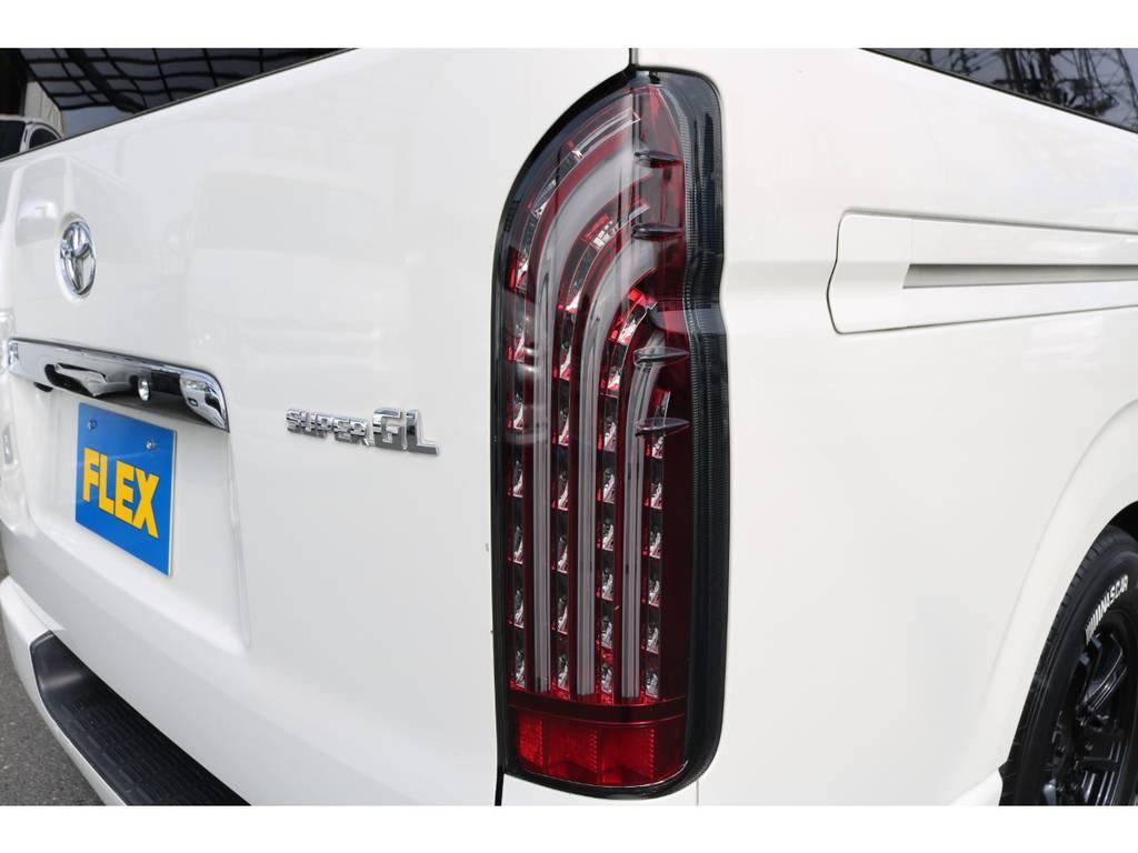 LEDテール!   トヨタ レジアスエース 3.0 スーパーGL ロングボディ ディーゼルターボ