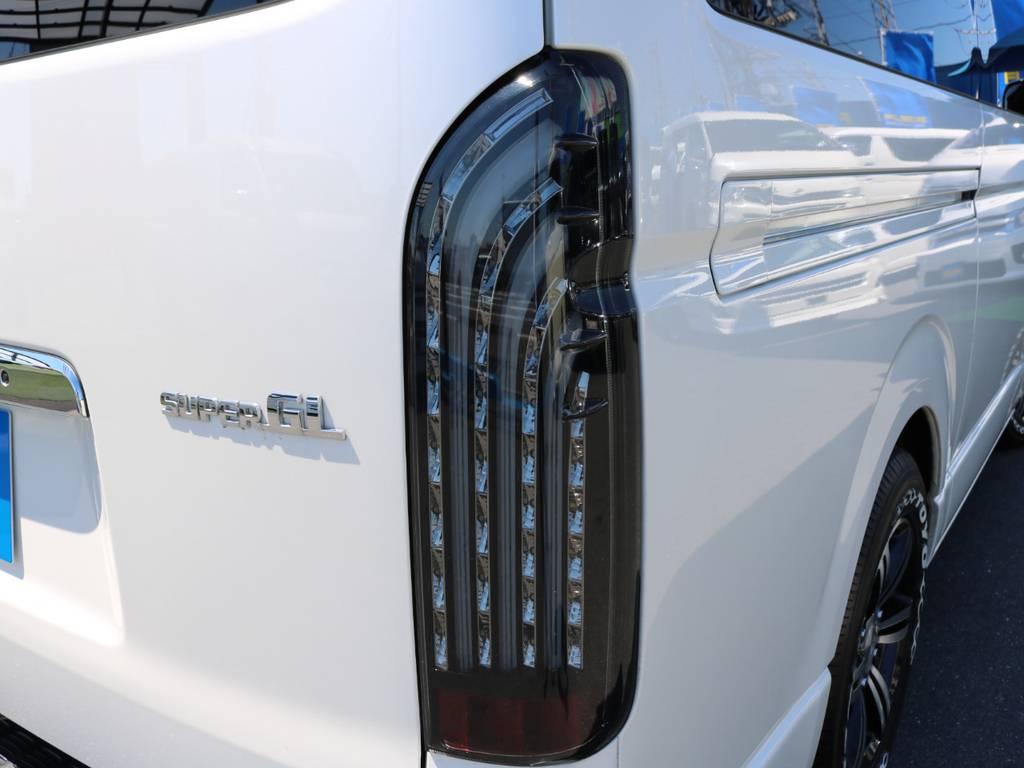新品FLEXオリジナルLEDテール! | トヨタ ハイエースバン 3.0 スーパーGL ロング ディーゼルターボ