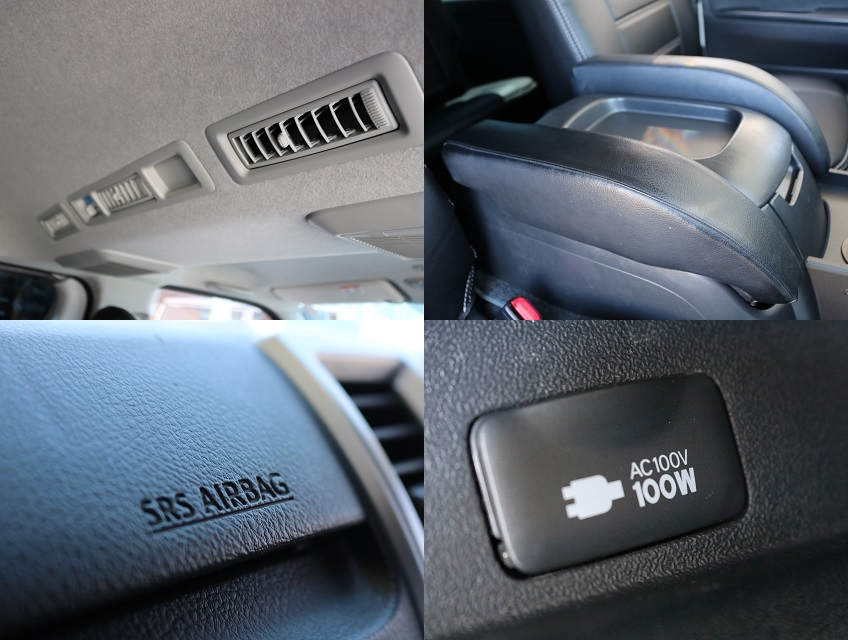 助手席SRSエアバッグ!AC100Vアクセサリーコンセント!左右肘掛! | トヨタ ハイエースバン 3.0 スーパーGL ロング ディーゼルターボ