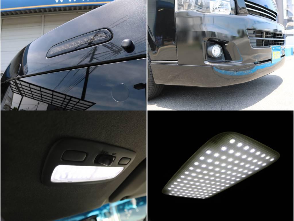 LEDハイマウントストップランプ!LEDルームランプセット! | トヨタ ハイエース 2.7 GL ロング ミドルルーフ 4WD ナビ フリップ RECAROシート搭載