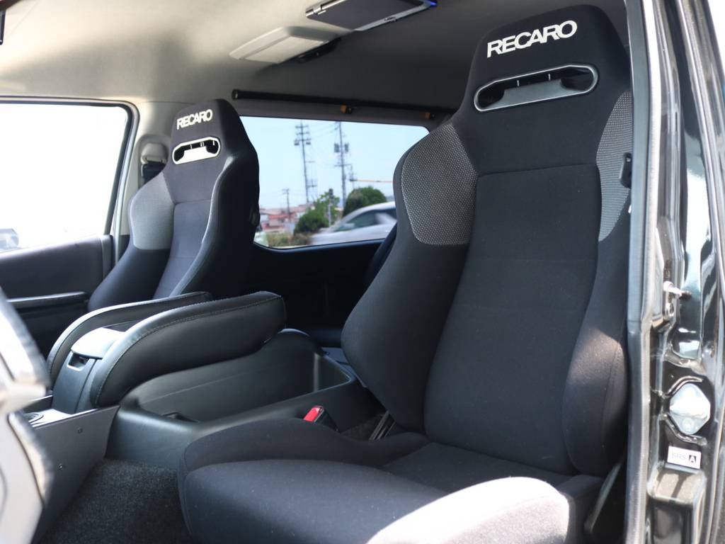 RECAROシート2脚! | トヨタ ハイエース 2.7 GL ロング ミドルルーフ 4WD ナビ フリップ RECAROシート搭載