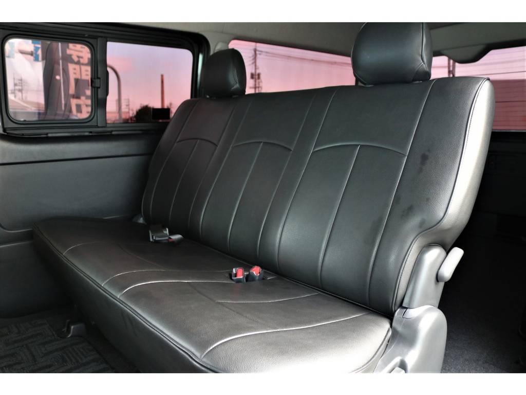 セカンドシート! | トヨタ レジアスエース 3.0 スーパーGL ワイド ミドルルーフ ロングボディ ディーゼルターボ 新品ナビ 新品WORKアルミ