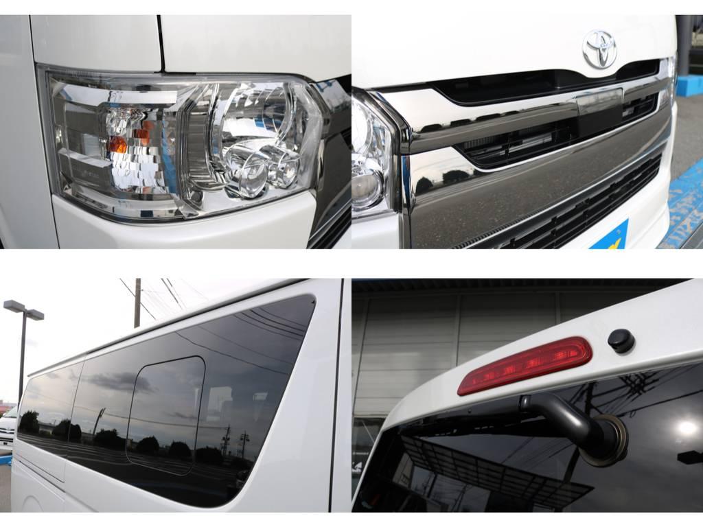小窓付き!換気も必要です! | トヨタ ハイエースバン 2.8 スーパーGL ダークプライムⅡ ロングボディ ディーゼルターボ ライトカスタムPKG 即納可能♪
