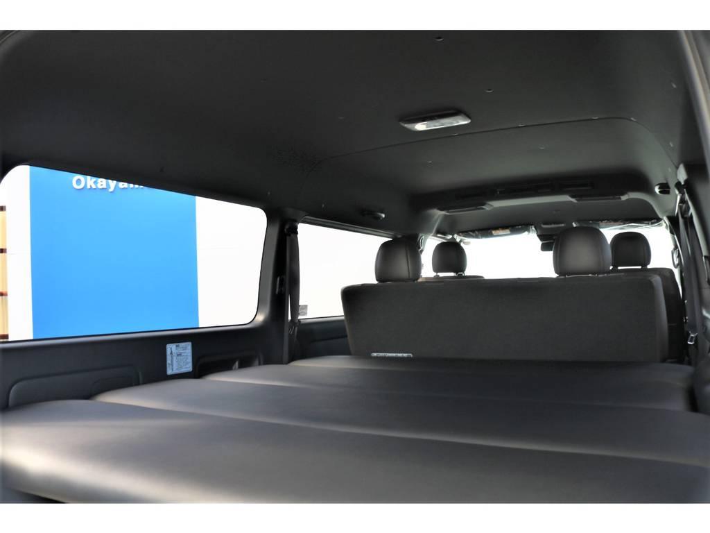   トヨタ ハイエースバン 2.8 スーパーGL 50TH アニバーサリーLTD ワイド ミドルルーフ ロングボディ Dターボ FLEXライトカスタムPKG♪