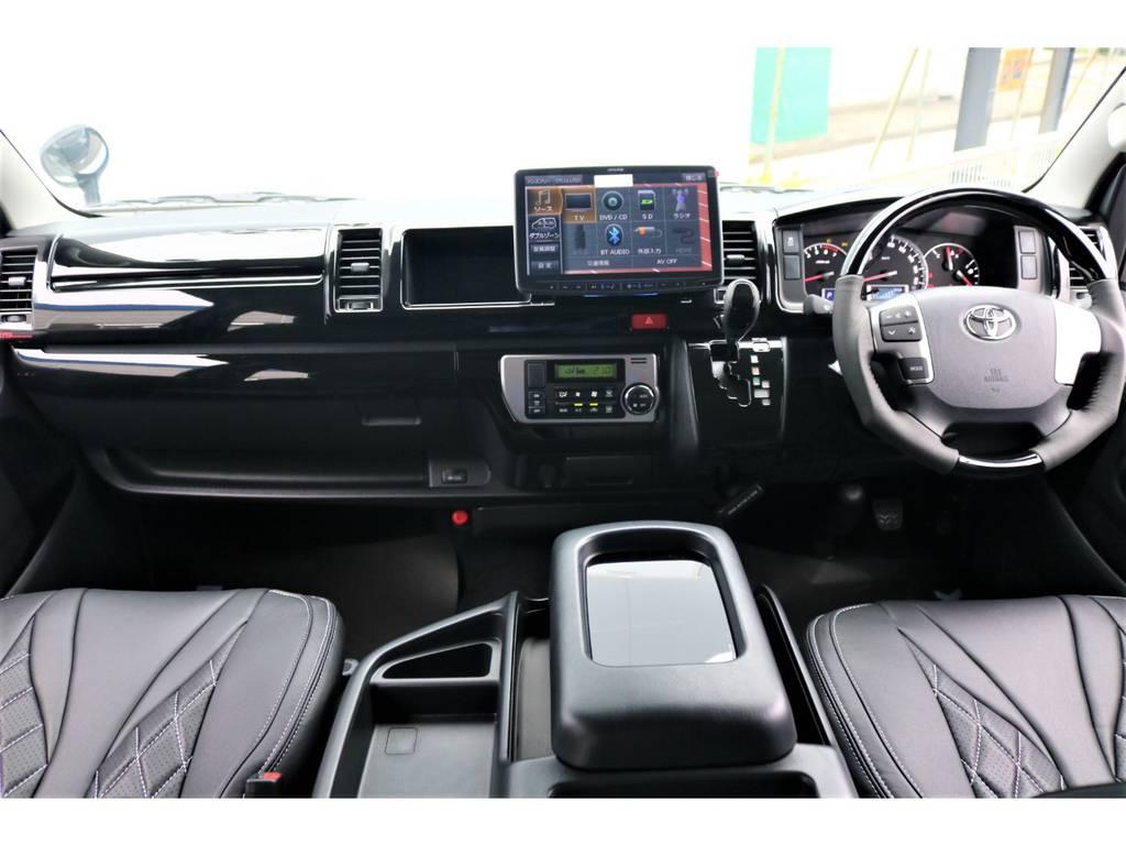   トヨタ ハイエース 2.7 GL ロング ファインテックツアラー 415コブラ×FLEX フルコンプリート