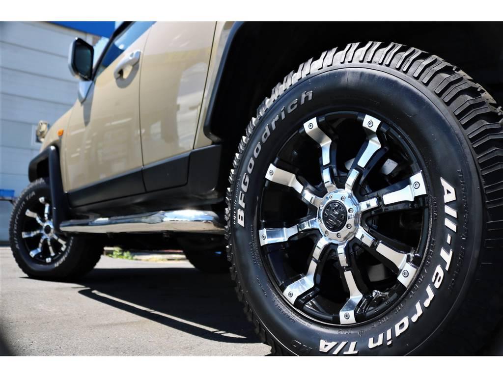 オフロード感が堪りません!! | トヨタ FJクルーザー 4.0 カラーパッケージ 4WD ユーザー様下取り直販♪