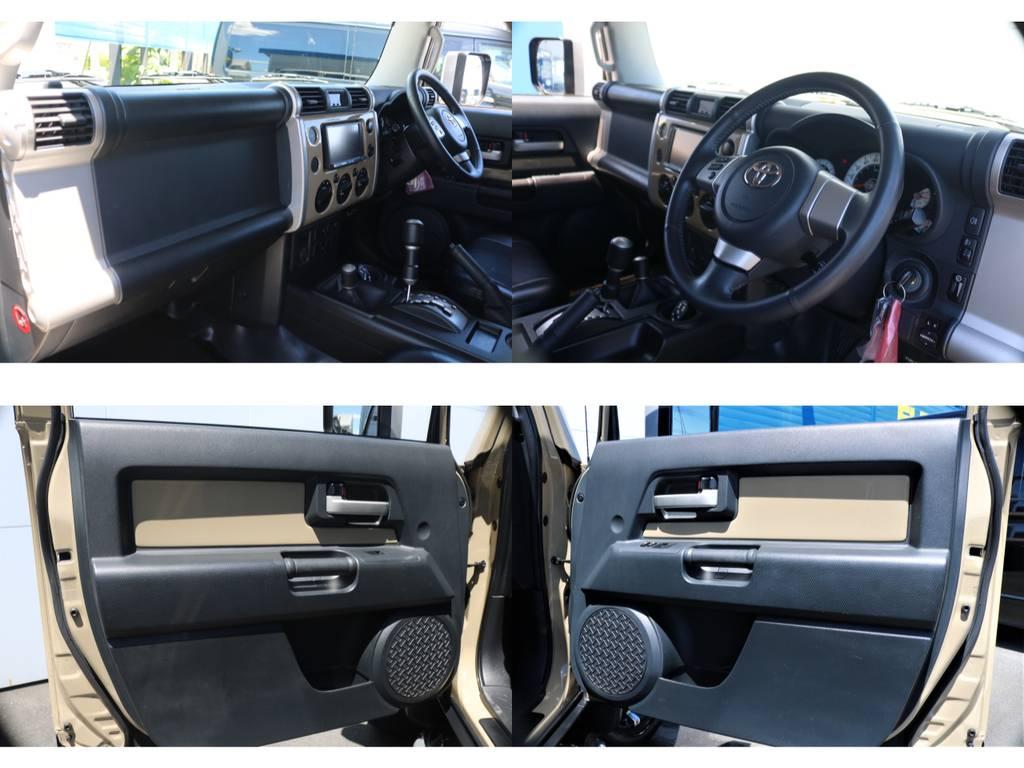 アウトドアに適したデザインになっております♪ | トヨタ FJクルーザー 4.0 カラーパッケージ 4WD ユーザー様下取り直販♪