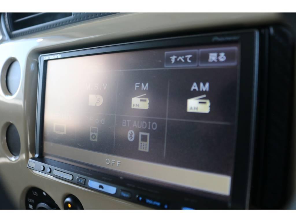 パイオニア製フルセグナビ搭載!! | トヨタ FJクルーザー 4.0 カラーパッケージ 4WD ユーザー様下取り直販♪