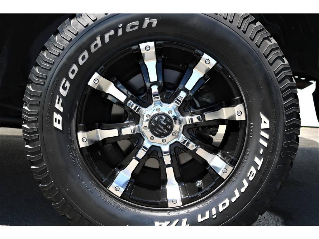 マーテルギアビーストアルミ×BFGオールテレーンタイヤ | トヨタ FJクルーザー 4.0 カラーパッケージ 4WD ユーザー様下取り直販♪