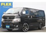 【新型DARK PRIMEⅡ/ガソリン・2WD】FLEXコンプリートカスタム♪パノラミックビューモニター搭載♪全国陸送可能♪