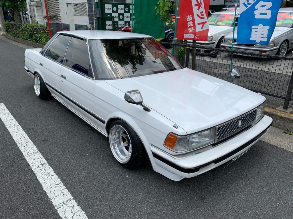 トヨタ マークⅡ グランデツインカム24改