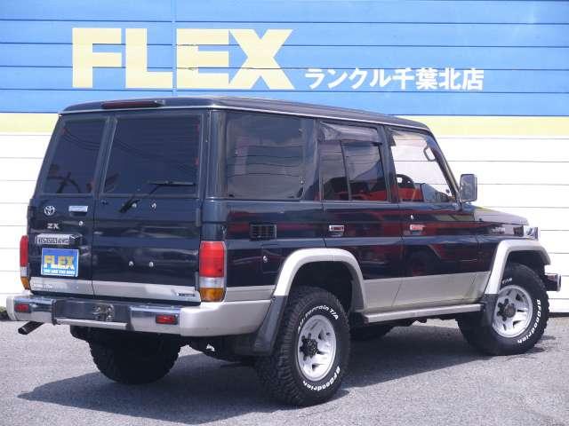 ランドクルーザー70 4.2 ZX ディーゼル 4WD