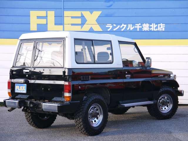 ランドクルーザー70 4.2 ZX FRPトップ ディーゼル 4WD