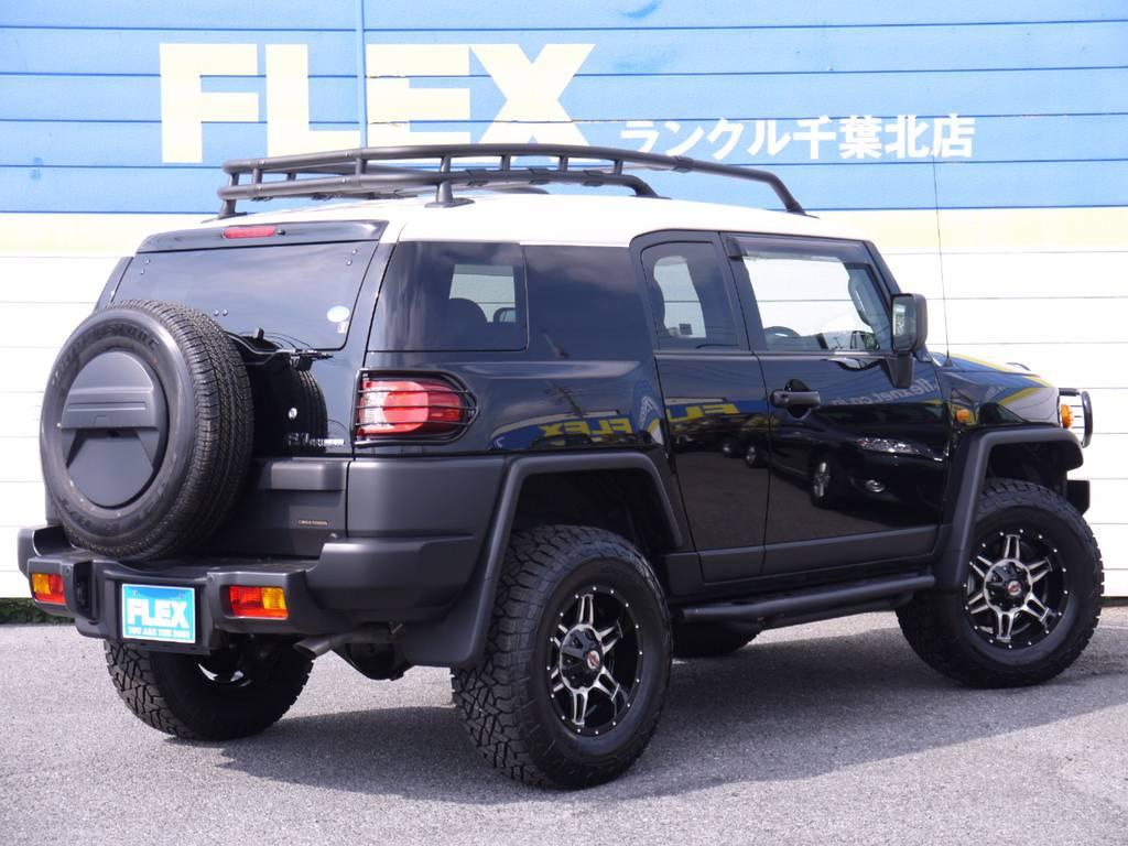 背面タイヤの交換もできます!
