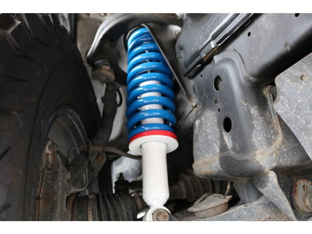 新品ショック&2インチコイル交換で快適に運転をサポートしてくれます☆ | トヨタ ランドクルーザープラド 3.4 TX 4WD 丸目 ナロー仕様
