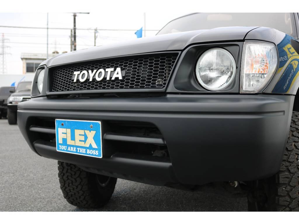 丸目換装に当店オリジナルグリルを装着致しました! | トヨタ ランドクルーザープラド 3.4 TX 4WD 丸目 ナロー仕様