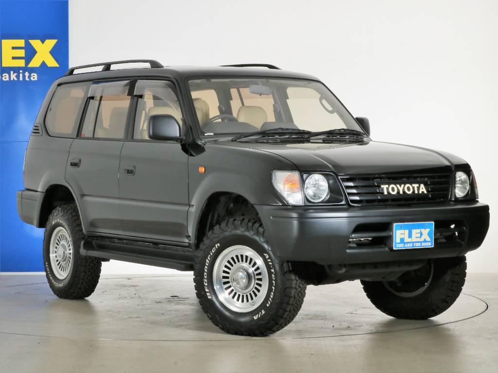 各種任意保険、オートローンも扱っておりますのでお気軽にご相談ください。 | トヨタ ランドクルーザープラド 3.4 TX 4WD 丸目 ナロー仕様