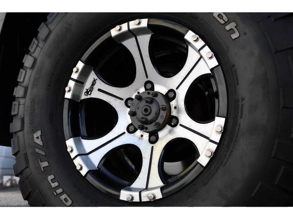 ミッキートンプソン16インチAW | トヨタ ランドクルーザー80 4.5 VXリミテッド 4WD 輸出用角目四灯 3インチUP