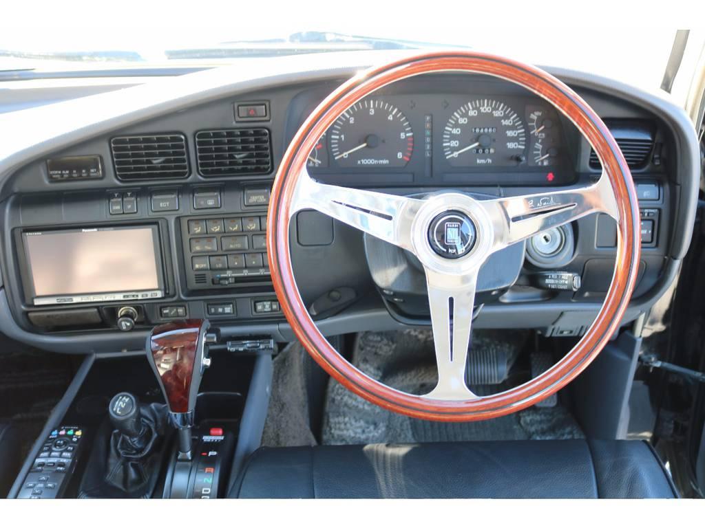 新品ナルディステアリング | トヨタ ランドクルーザー80 4.5 VXリミテッド 4WD 輸出用角目四灯 3インチUP