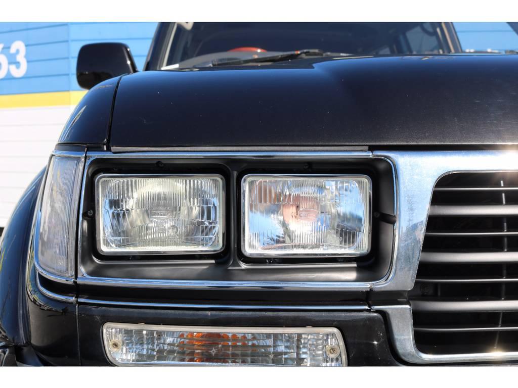 新品角目4灯換装済み | トヨタ ランドクルーザー80 4.5 VXリミテッド 4WD 輸出用角目四灯 3インチUP