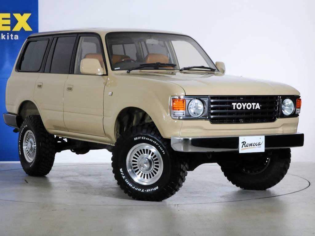 各種任意保険、オートローンも扱っておりますのでお気軽にご相談ください。 | トヨタ ランドクルーザー80 4.5 VXリミテッド 4WD 『86』 丸目 60フェイス