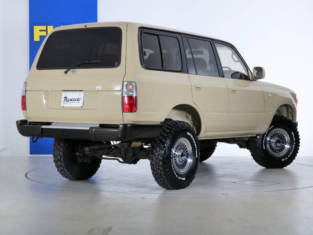 ご不明な点、ご質問等がございましたらお気軽にランクル千葉北店スタッフまでお聞きください。 | トヨタ ランドクルーザー80 4.5 VXリミテッド 4WD 『86』 丸目 60フェイス