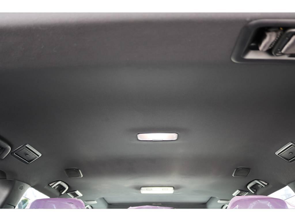 広々した天井!フリップダウンモニターの取り付け事例もございます。 | トヨタ ランドクルーザー200 4.6 ZX 4WD 新車未登録車 純正マルチ