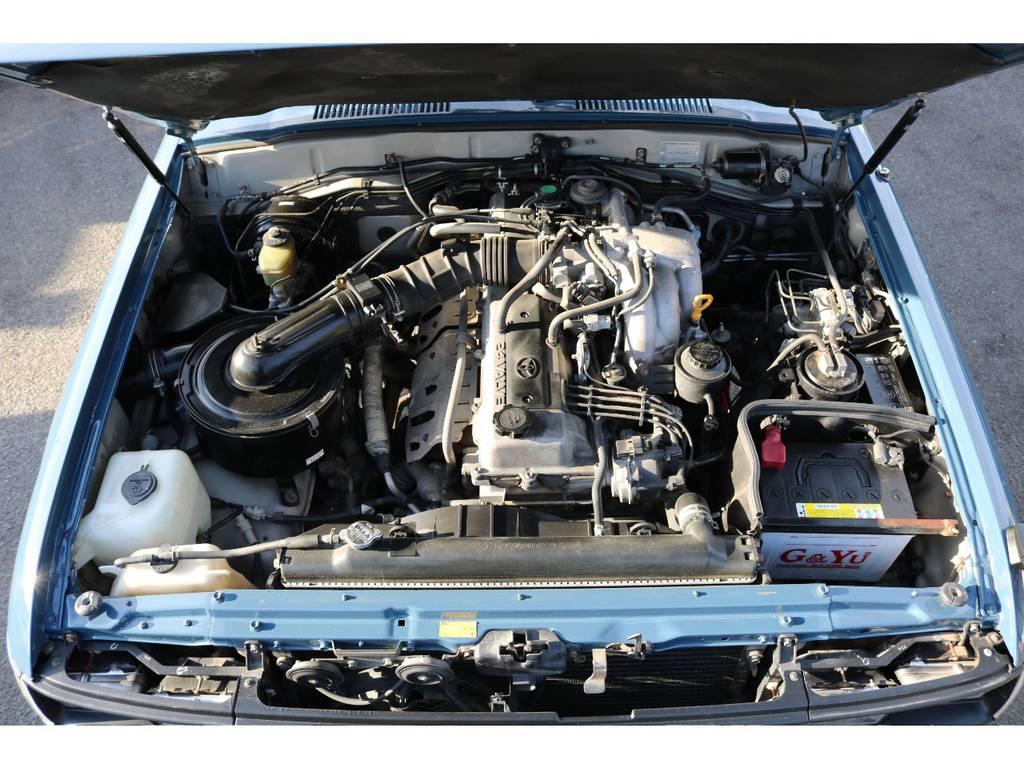 定評のあるエンジン搭載☆1年間距離無制限で保証するランクル保証付きです☆