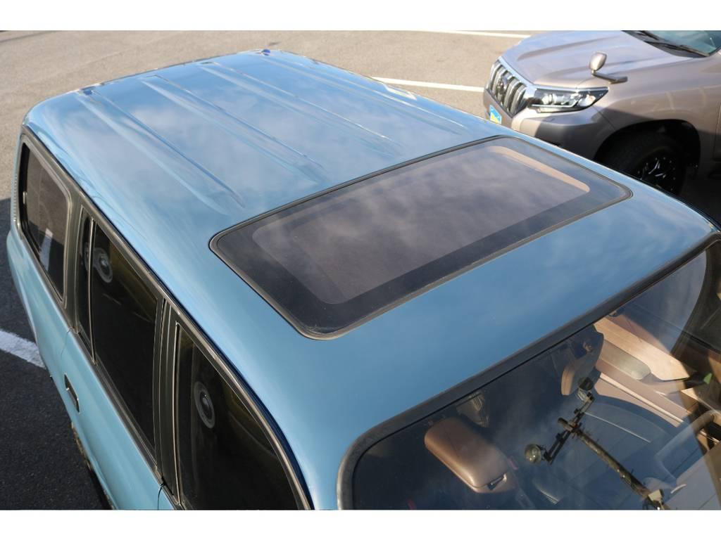 サンルーフ付きです☆ | トヨタ ランドクルーザー80 4.5 VXリミテッド 4WD ナロー仕様 5インチUP