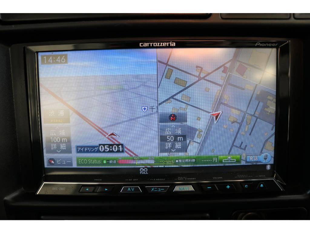 ナビ&ETC付きです☆ | トヨタ ランドクルーザー80 4.5 VXリミテッド 4WD ナロー仕様 5インチUP