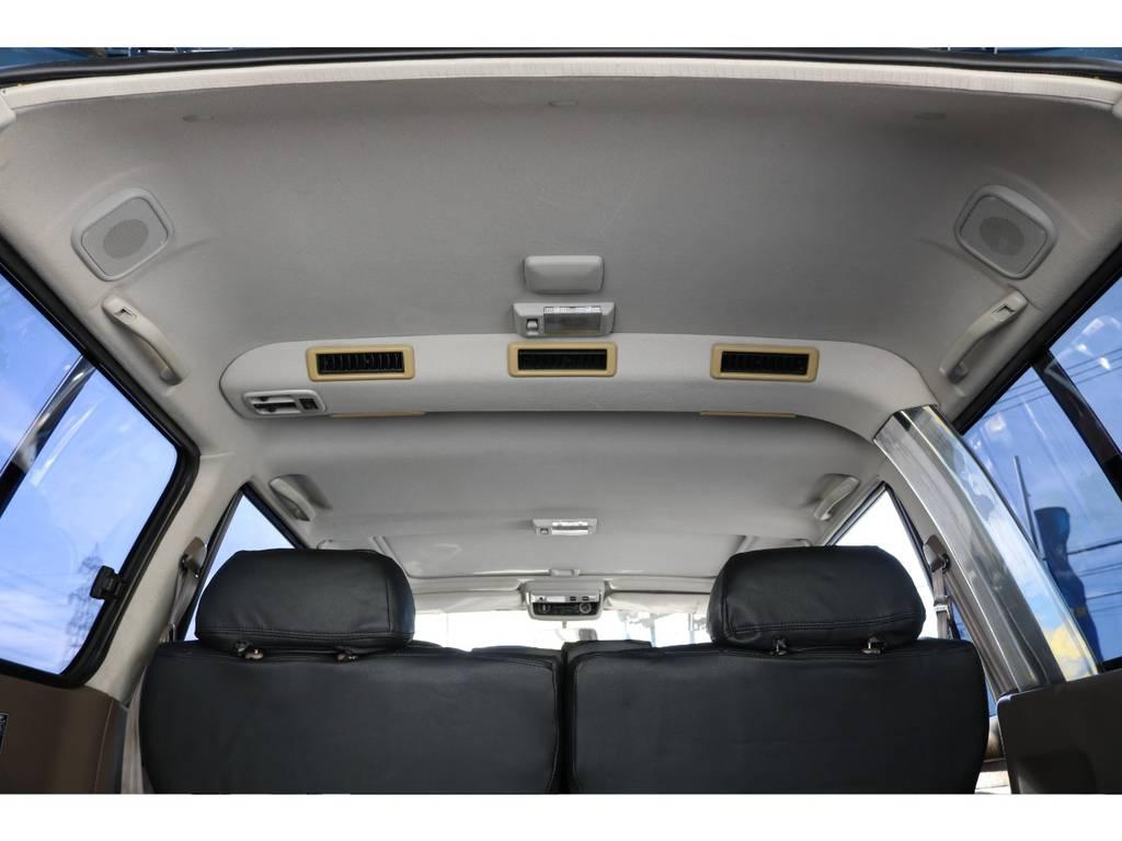 全車ルームクリーニングをしておりますので綺麗な車内です☆ | トヨタ ランドクルーザー80 4.5 VXリミテッド 4WD ナロー仕様 5インチUP